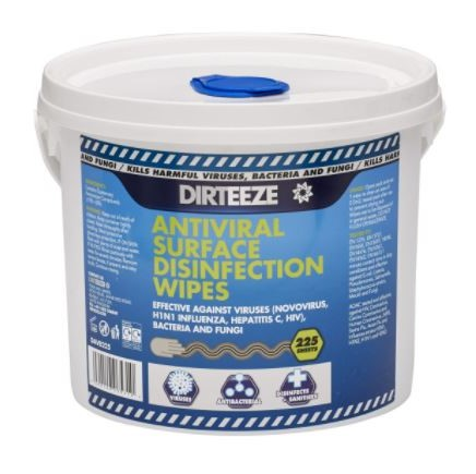 Dirteeze antibacterial hand & surface wipes - Emmer